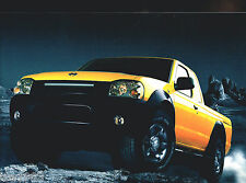 2001 NISSAN FRONTIER PickUp Truck Brochure / Catalog:XE,SE,S/C,V6,CREW/KING CAB