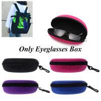 fermeture éclair. lunettes de soleil cas dur de lunettes dispositif protecteur