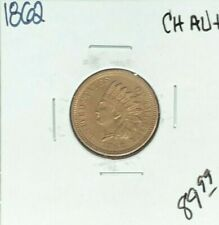 1862 INDIAN HEAD CENT ~ CH/AU+ ~NICE LOOKING COIN~
