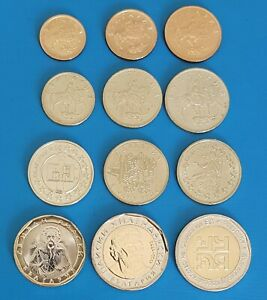 BULGARIA 1999, 2000, 2004, 2005,2007, 2012, 2018 Full Set Jubilee and Coins, UNC