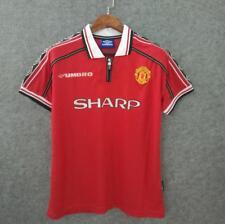Manchester United Shirt Jersey Top 1996 98 Eric Cantona David Beckham top shirt