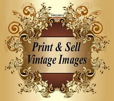WORK FROM HOME PRINTMAKIING BUSINESS - Print, Sell Thousands of Restored Images!