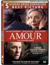 Amour (DVD)  Emmanuelle Riva, Jean-Louis Trintignant NEW