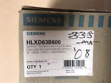 Siemens HLXD63B600  Molded Case Circuit Breaker