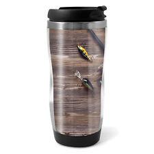 330ml Coffee Tea Kids Car Gift #15688 Fishing Tackle Travel Mug Flask