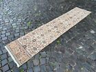 Corridor rug, Handmade rug, Wool rug, Runner rug, Carpet | 2,0 x 9,0 ft