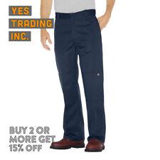 Dickies 85283 Hombre de Trabajo Pantalones Multibolsillos Double-Knee Holgado