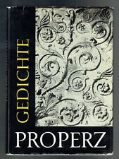 Propertius; Helm; Properz Gedichte (Latin-German text). 1965 Good