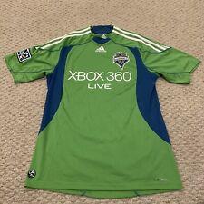 Seattle Sounders FC MLS Major League Soccer Jersey Adidas Mens Medium
