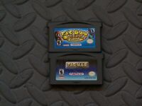 Lot of 2 Nintendo Game Boy Advance GBA Games Pac-Man Pinball Pac-Man Collection