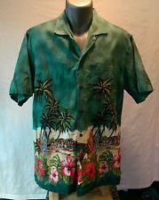 Hawaiian shirt by CT HAWAII FASHIONS see measurements for sizing