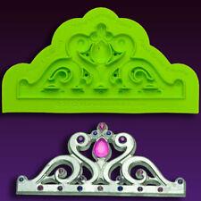 Mini-Majestic-Tiara Silicona Fondant Molde por Marvelous Molds