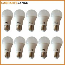 10x LED Light Bulb Illuminant 10W Warm White Ball Frosted Glass 800lm EEK A +