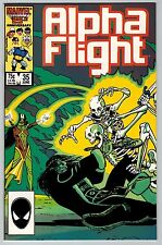 Alpha Flight #35 1986 (C5940) Marvel