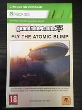 Xbox 360 DLC - Grand Theft Auto V (GTA 5) Fly The Atomic Blimp - PLEASE READ