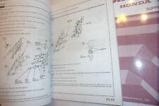 HONDA CIVIC OEM FACTORY WORKSHOP MANUAL SUPPLEMENTS 1990/91> (LARGE 1.7Kg)