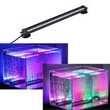 Aquarium Eclairage Submersible Lumière Bulles Air / 18 LED RGB Télécommandé