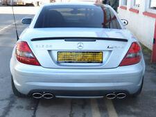 Mercedes R171 SLK Sport Exhaust SLK200 SLK280 SLK350 4 Pipe Quad Oval SLK55
