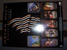 Uriah Heep Sonic Origami Poster Lee Kerslake