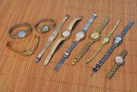 Mixed estate find ladies writst Watch old parts drawer vintage bag2 XW