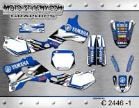 Yamaha YZ 80 1993 up to 2001 graphics decals stickers kit Moto StyleMX