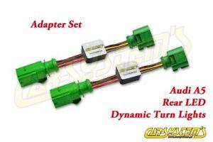 Audi A5 S5 RS5 Liftback Coupe - Semi Dynamic LED Adapter Set - Rear Dynamic Turn