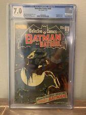 Detective Comics #405 (CGC 7.0) 1st League of Assassins - Batgirl /Batman  Adams