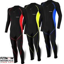 Motorcycle Base Layer Compression Lycra Inner Rash Guard Suit One Piece Suit