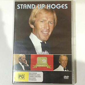 STAND UP HOGES DVD Region All Rare (Free Tracked Post)