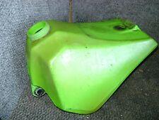 KAWASAKI OEM GAS FUEL PETRO TANK GREEN PLASTIC KX80  KX 80 1986 1987 51002-5162