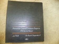 1995 Ford Emissions Diagnosis Powertrain Control Service Manual Diagnostics II