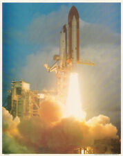 SMALL POSTER:  SPACE SHUTTLE TAKING OFF        FREE SHIPPING  #29-608  RC20L-R
