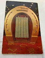 Joe W. Brown's Horseshoe Club Souvenir Postcard Las Vegas, NV Unposted