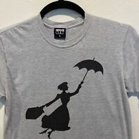 Mary Poppins Absolute Cult Men's T-shirt Size Large Gray Short Sleeve Cotton