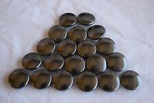 Prym Button/Snap Cap - Brass Black Oxy - 14mm diameter - 20pcs