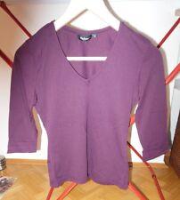beerenfarbenes 3/4 Damenshirt von Madonna, Gr. S