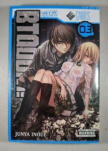 Btooom! Manga Vol 3 by Junya Inoue