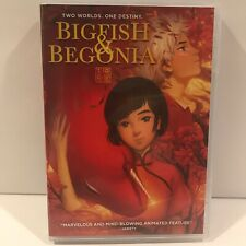 Big Fish and Begonia: Two Worlds One Destiny (Dvd) Free Shipping