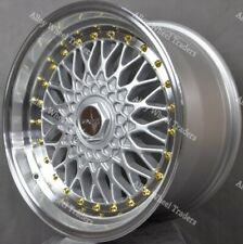"Alloy Wheels RS 17"" For Alfa Romeo 147 156 164 75 90 GT GTV 5X98 Polished"