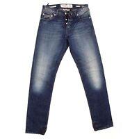 JACOB COHEN J688 Comfort Faded Slim Blue Men Jeans Size W32 L34