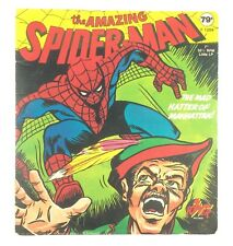 """The Amazing Spider Man Mad Hatter of Manhattan 7"""" 33 rpm Record"""