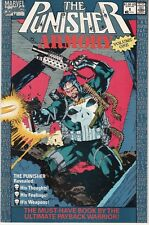 PUNISHER ARMORY #1 1990 MARVEL  by STAN LEE  -JIM LEE-c -WEAPONS pgs/W J....VF+