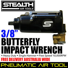 "STEALTH 3/8"" Butterfly Impact Wrench Heavy Duty Air Tools PIA 401A Free Delivery"