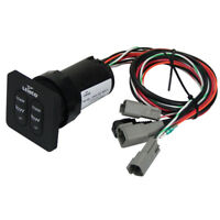 Lenco Trim Tab Switch Kit Standard Integrated for Single Actuator 12 or 24 Volt