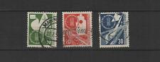 1953 Bundespost ALLEMAGNE Fédérale transports Munich 3 timbres oblitérés/T3280