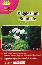 MAGNESIUM SULPHATE EPSOME SALT fertilizer for TEA ROSE PLANTS 100gm