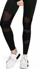 Victoria's Secret PINK ULTIMATE New Style MESH HIGH WAIST LEGGING Size M Black