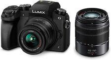 [NEW] Panasonic LUMIX DMCG7 4K Camera + 14-42mm F3.5-5.6 + 45-150mm F4.0-5.6 Len