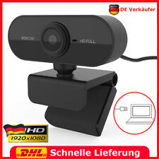1080P HD Webcam Kamera USB Mit Mikrofon für Computer PC Laptop Notebook Windows