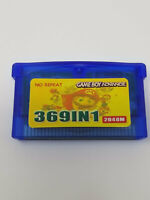 369 in 1 Gba Video games for Nintendo Gba SP NDS Retro Game Boy Cartridge Pokemo
